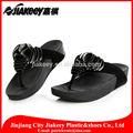 Mode casual flip-flop Farbe splitter lackfilm Vanille französisch sandalen für frauen