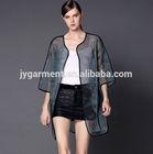 2015 latest design women jackets and blazers summer ladies long coats