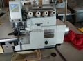 pegasus m700 mão seond velho usado 4 linha pegasus máquina de costura overlock