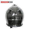 Alta resistencia de fibra de carbono casco de seguridad de motocicletas