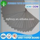 Book Binding Cover Material Grey Board 2.mm