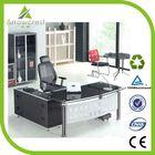 Fashion durable modern glass desk office furniture