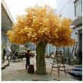 En fibre de verre réaliste, artificial banyan tree direct. ficus gloden plantes à feuillage artificielle arbre