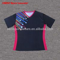 Customize top fashion sweet teen girls t shirt design