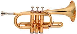 musical instruments from China C key children trumpet with cheap price