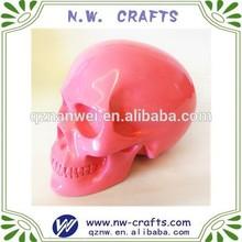 Human skull resin crafts