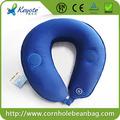 almohada de viaje cuello masaje por vibración con construido en el altavoz
