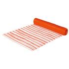 Manufacture Product Orange Flexible HDPE Plastic Safety Fence