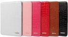 High Quality Japanned Crocodile Pattern PU Leather Case for iPad Air, iPad Mini, iPad 2 3 4