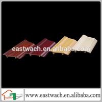 Construction convenient plastic baseboards