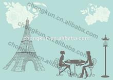 Original design PP/PET placemat/3D picture beautiful cartoon artwork