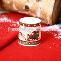 new bone china cerâmica veados natal titular chá luz