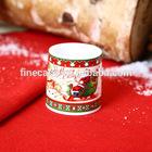 New Bone China Ceramic Christmas Deer Tea Light Holder