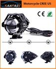 SALE 2014 CREE 15W 3000LM Motorcycle LED Headlight PC U5 Waterproof Spot Light Bulb Lamp led motorcycle headlight