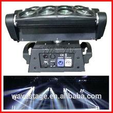 WLED 1-13 New 8 pcs 4 IN 1 RGBW (WHITE) 10W led disco led spider light beam dj lighting mixer