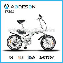 folding electric bike 250w TZ201 with 24v lithium battery mini motard bikes