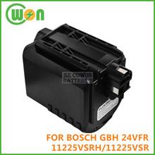 Remplacement batterie 24 V 3.0Ah batterie pour BOSCH GBH 24vfr, Gbh 24vre, 11225 vsrh, 11225VSR