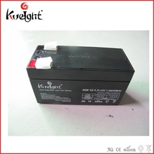 elevator backup battery 12v1.3ah MF sealed lead acid battery