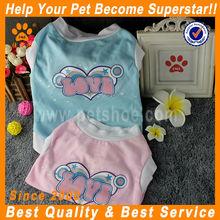 JML wholesale china trade blue/pink cool summer dog clothes