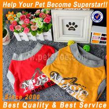 JML wholesale china trade yellow/red big dog clothes