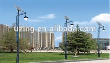 High lumens 20W 25W 30W 40W 50W 60W 70W 80W 90W solar garden lighting pole light with best price