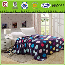 Famous brand wholesale cheap printed flannel fleece blanket