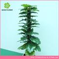 Artificial plantas y árboles, Maquillaje de interior del árbol para decoración
