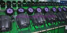 18x15w rgbw 4in1/5in1/6in1 led par 64/led par light waterproof