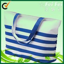 Wholesale stripe outdoor pattern beach bag