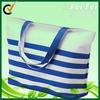 Wholesale stripe waterproof outdoor pattern beach bag