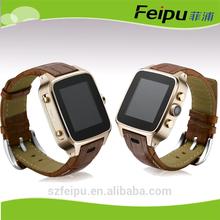 ODM logo feipu 3G/Auto focus/GPS/wifi/bluetooth/G-sensor 5 MP 1.54-inch screen andriod china smart watch mobile phone F12