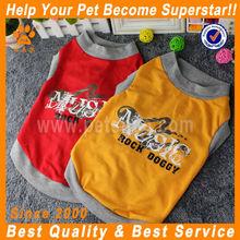 JML wholesale china trade yellow/red christmas dog t-shirt
