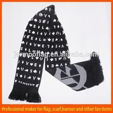 wholesale knit football scarf pattern