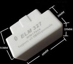 2014 NEW WHITE ELM327 BLUETOOTH CODE READER, SUPER MINI ELM327