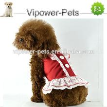 100% coton vêtements pour chiens chien d'été robe Hot Pet vêtements pour lapins livraison gratuite