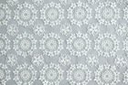 100% cotton embroidered african organza fabric/chemical lace