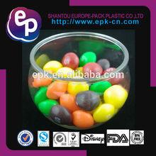 FDA LFGB BPA FREE Certificate new design small round plastic container for dessert