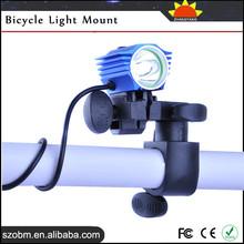 Plastic Flexible Headlight Bicycle Light Holder Mount