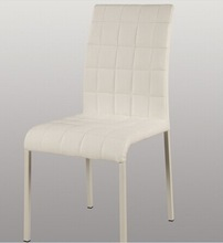 YJL comfortable white PU dining chair