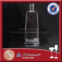 Hot Sale Cheap Square Vodka Bottle Sizes