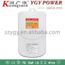 ac adapter waterproof 12v 2a , white cctv waterproof power adapter