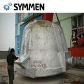ダイキャスト合金輸出鉄鋼スラグ鍋付きoem鋳造鋼