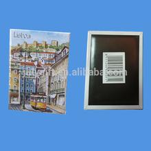 custom portugal souvenir fridge magnet with print