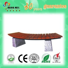 round outdoor bench with granite bottom (HMY-035)