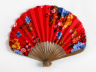 New fashion!Japanese / Chinese cloth gift hand fan for ladies