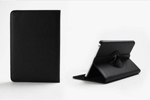 Wholesale price and high quality 360 Degree Rotation PU Leather Case for ipad mini