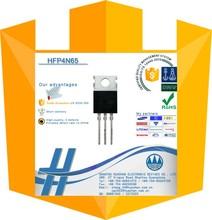 * HFP4N65 SSP4N65B mosfet transistor 4A 650V DC adapter components