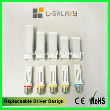 Patented Replaceable Driver Design G24 E27 9w WW NW CW 110v 220v SMD Commercial LED Plug Light