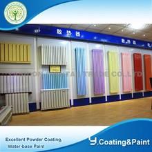full corlor electrostatic powder spray equipment heating radiator powder coating