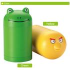 D642 Stylish Design Singing Frog & Bird Creative Household Items Kitchen Storage Plastic Salt Dispenser